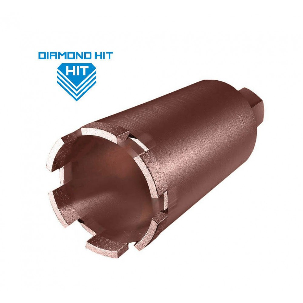 Алмазная коронка Diamond Hit D400 ø28 мм L-450
