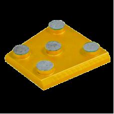 Франкфурт алмазный шлифовальный GFB 2 (125/100 мкм - 120 Grit)