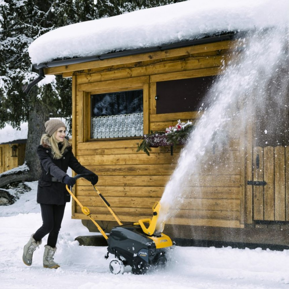 Снегоуборщик одноступенчатый бензиновый STIGA ST 3146 P